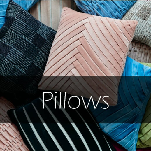Luxury pillows from Danish toBEliving